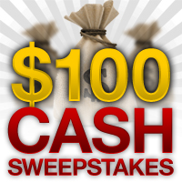 $100 Monthly Sweepstakes