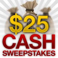 $25 Weekly Sweepstake