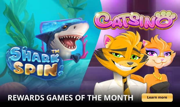 Earn Double Rewards When you Play the Rewards Game of the Month